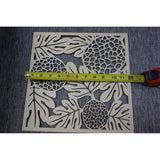 "Island Style `Ulu (Breadfruit) 12"" Square Panel"