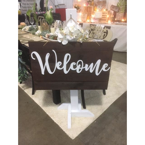 *RENTAL* Welcome Sign and Post