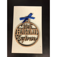 West Hawaii Explorers School Ornament