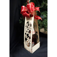 Holiday Snowflake Wine Carrier