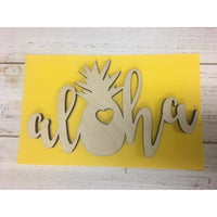 Aloha Pineapple Decorative Piece