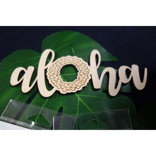 Aloha Plumeria Lei Decorative Piece
