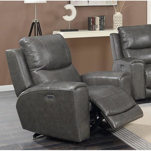 Stoneleigh Leather Power Recliner With Power Headrests *FLOOR MODEL*