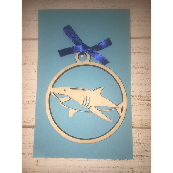 Hawaiian Shark (Mano) Ornament