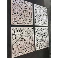 *CUSTOM ORDER* Monstera Leaves Panel, LARGE