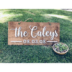 *CUSTOM ORDER* Family Name Plaque