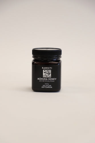 MANUKA HONEY - 650 METHYLGLYOXAL & MONOFLORAL