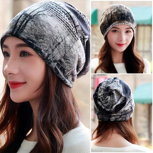 3-Way Winter Beanie - 3 Way Forest Winter Beanie