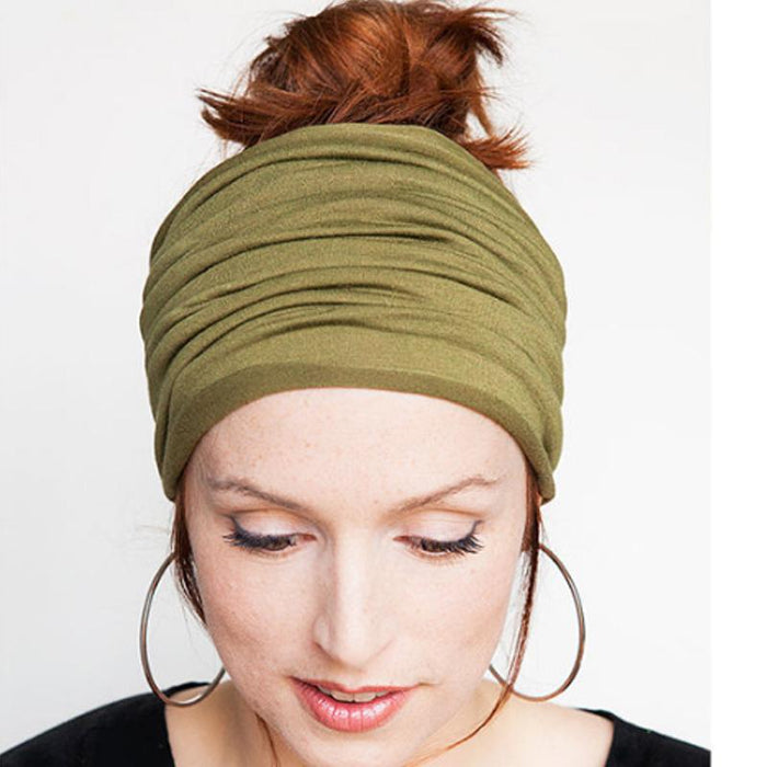 8-Way Vibrant Turban Headband-Boots N Bags Heaven