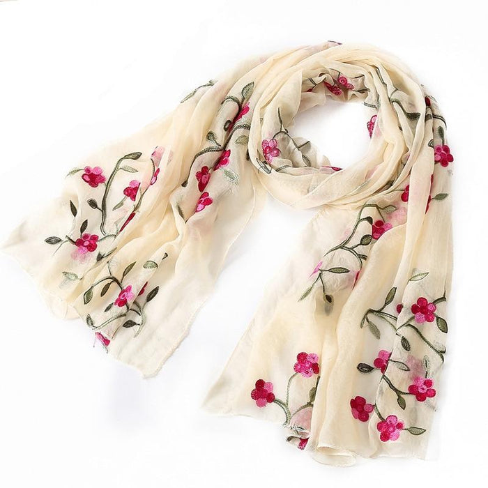 Beautiful Spring Floral Scarf-Boots N Bags Heaven