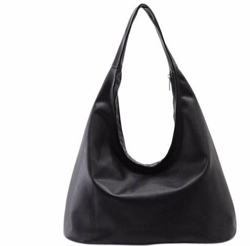 Casual Black Hobo Bag-Boots N Bags Heaven