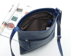 Bags - Casual Leather Bucket Bag