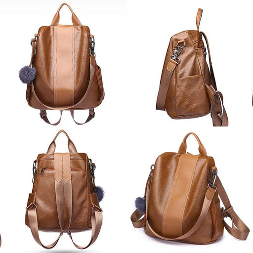 Casual Messenger Anti-theft Backpack-Boots N Bags Heaven