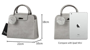 Bags - Casual Small Leather Handbag