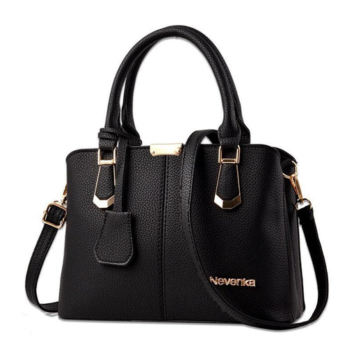 Elegant Leather Lady Handbag-Boots N Bags Heaven