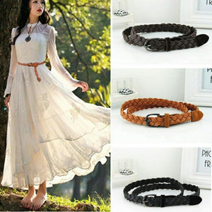 Belt Trendy Braided Hemp Rope Style Belt - Trendy Braided Hemp Rope Style Belt