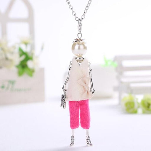 Bohemian Fashionista Beaded Doll Necklace - Fashionista Beaded Doll Necklace - Deluxe Edition