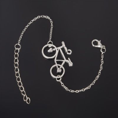 Silver Plated Charm Bracelet-Boots N Bags Heaven