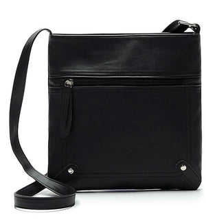 Buckets Bags - Casual Leather Bucket Bag