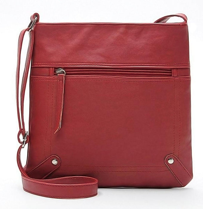 Casual Leather Handbag-Boots N Bags Heaven