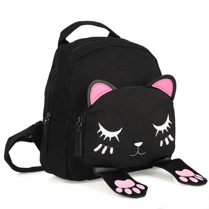 Cute Cat Backpack-Boots N Bags Heaven