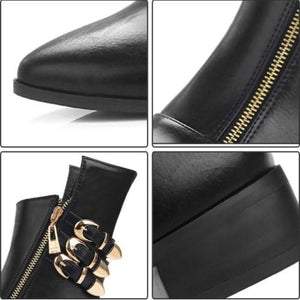 Chelsea Boots - Zipper Ankle Chelsea Boots