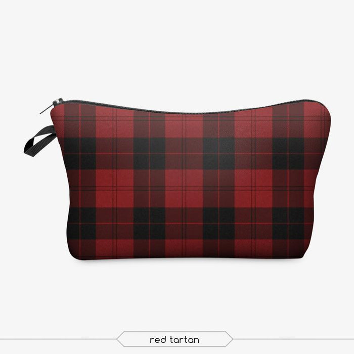 Full-Print Cosmetic Pouch Bag - backup-Boots N Bags Heaven