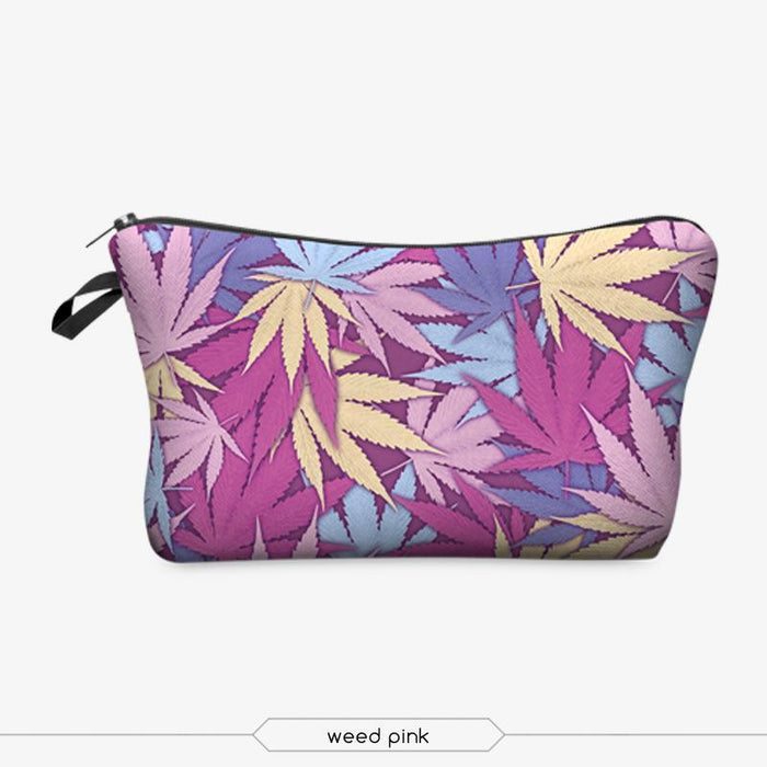 Full-Print Cosmetic Pouch Bag-Boots N Bags Heaven