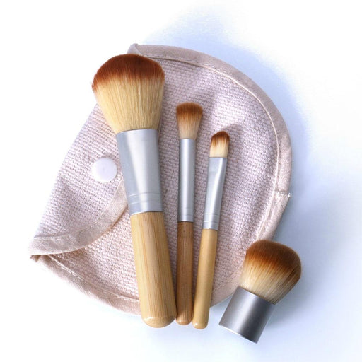 Eco-friendly Bamboo Make-up Brush-Boots N Bags Heaven