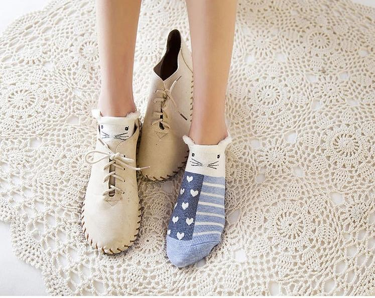 Cute Cotton Socks-Boots N Bags Heaven