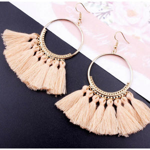 Earrings - Bohemian Tassel Earrings