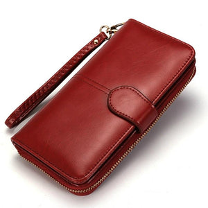 Fashion Wallet Trifold Multifunction Leather Clutch Wallet - Trifold Multifunction Leather Clutch Wallet