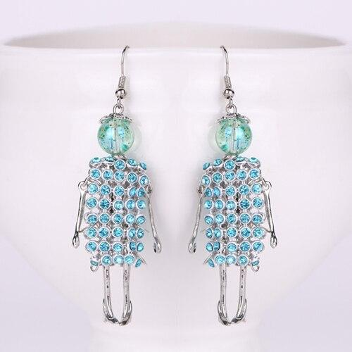 Fashionista Beaded Doll Earrings Collection - Fashionista Beaded Doll Earrings Collection
