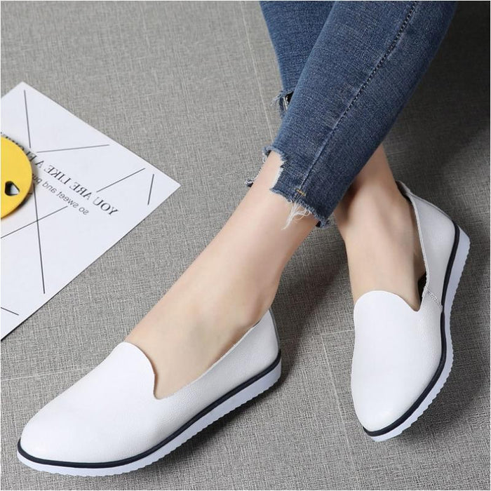 Flat Summer Slip-on Casual Shoes-Boots N Bags Heaven