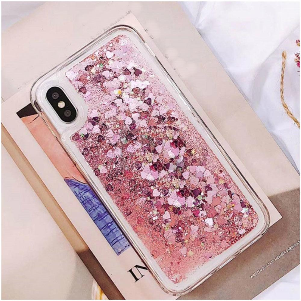 Glitter Love Protective Iphone Case-Boots N Bags Heaven