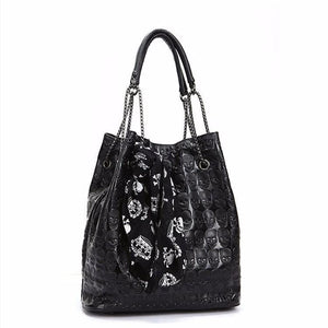 Gothic Bags - Vintage Skulls Shoulder Bag