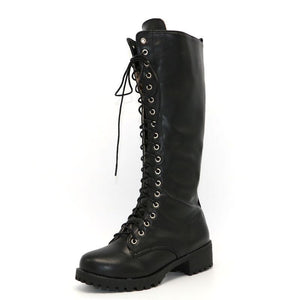 Gothic Boots - Knee High Gothic Boots