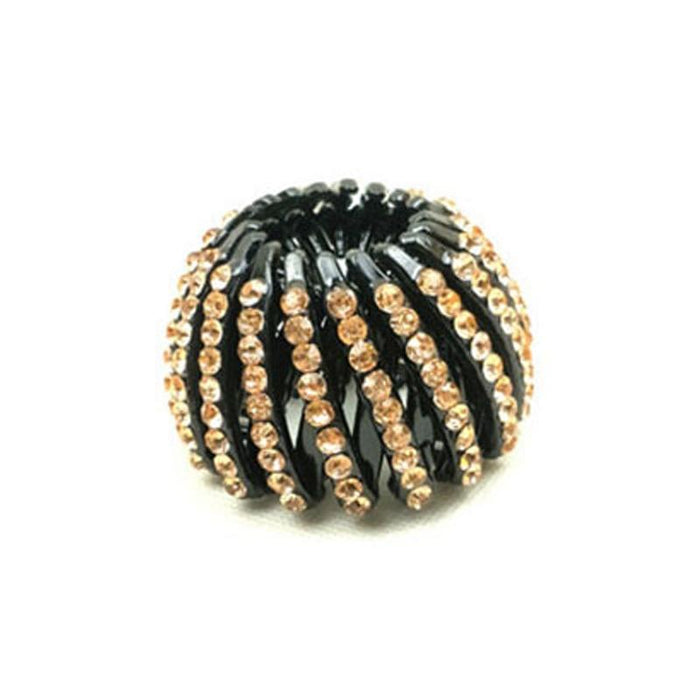 Bejeweled Bird's Nest Hair Clip-Boots N Bags Heaven