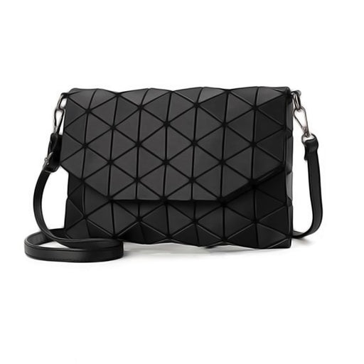 Fashionable Geometric Handbag-Boots N Bags Heaven