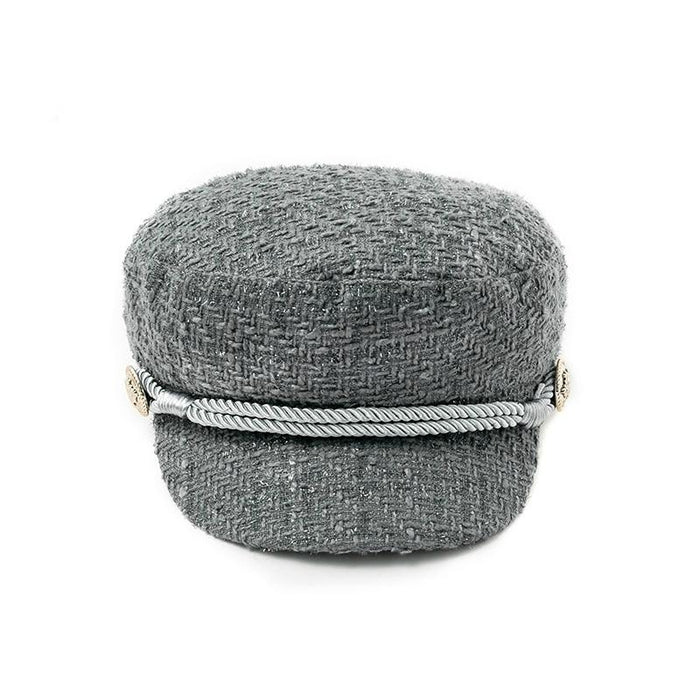 Military Style Cotton Beret-Boots N Bags Heaven
