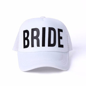 Hats Team Bride Bachelorette's Party Caps - Team Bride Bachelorette's Party Caps