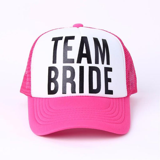 Team Bride Bachelorette's Party Caps-Boots N Bags Heaven