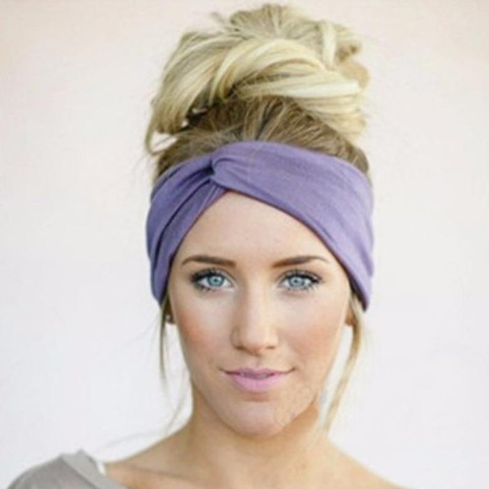 Solid Colored Summer Twister Turban-Boots N Bags Heaven