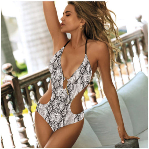 High Cut Deep V Sexy Monokini-Boots N Bags Heaven