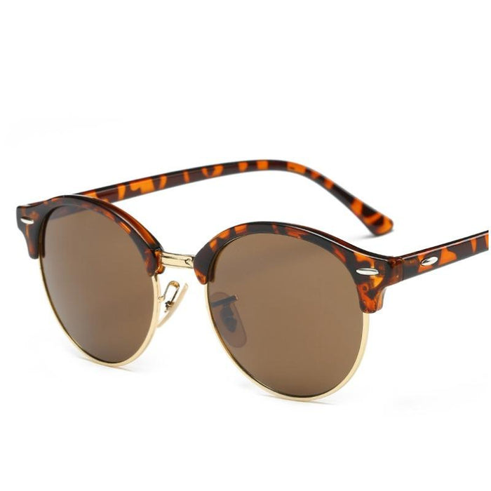 Hippie Retro Colorful Coating Sunglasses-Boots N Bags Heaven