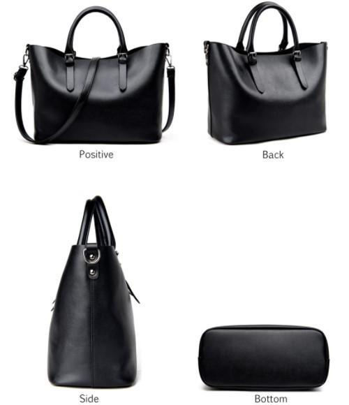 Casual Leather Shoulder Bag-Boots N Bags Heaven