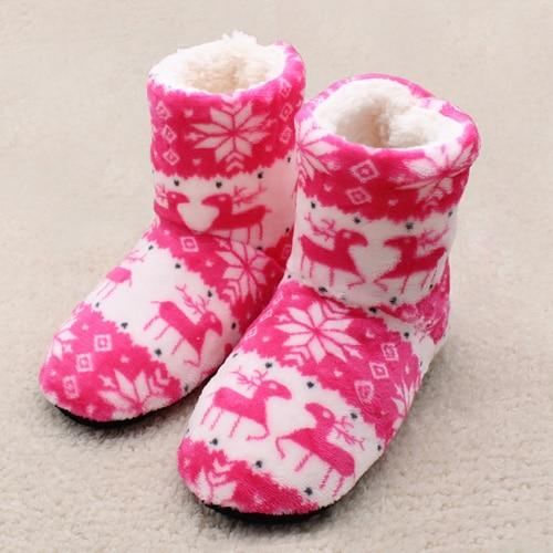 Winter Plush Home Boots-Boots N Bags Heaven