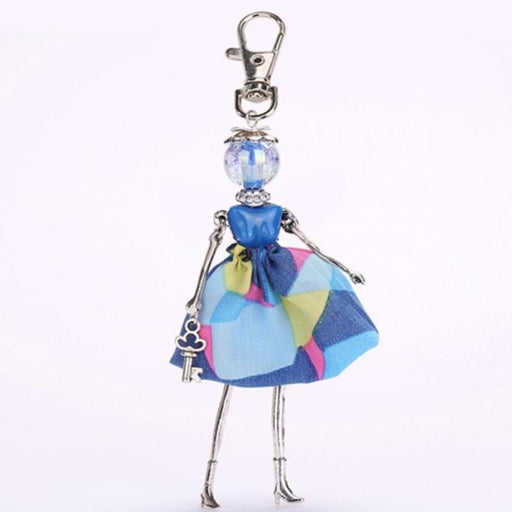 Key Chain Fashionista Key Chain Dolls - Handmade Chic Fashionista Keychain Dolls - Special Deal