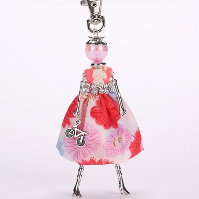 Key Chain Fashionista Key Chain Dolls - Handmade Fashionista Keychain Dolls - Limited Edition