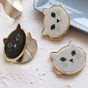 Kitty Cat Compact Make-Up Mirror - Kitty Cat Compact Make-Up Mirror
